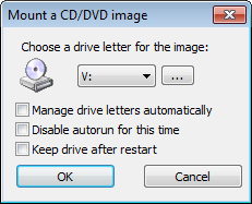 MOUNT DVD ISO FREEWARE WINCDEMU screenshot